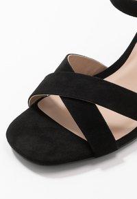 Dorothy Perkins - SELENA BLOCK  - Højhælede sandaletter / Højhælede sandaler - black - 5