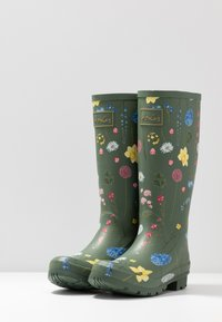 Tom Joule - ROLL UP WELLY - Stivali di gomma - green - 4