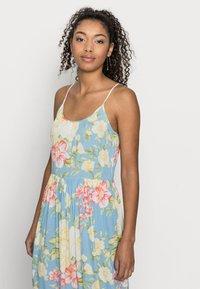 VILA PETITE - VIMESA STRAP MAXI DRESS - Maxi dress - cashmere blue - 3