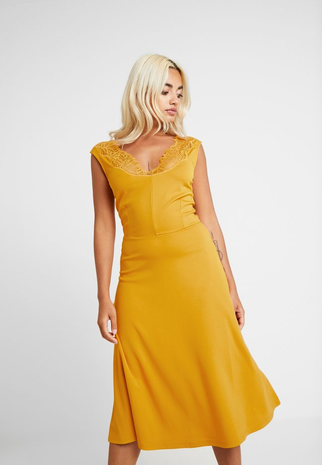 Vestito lungo - golden yellow