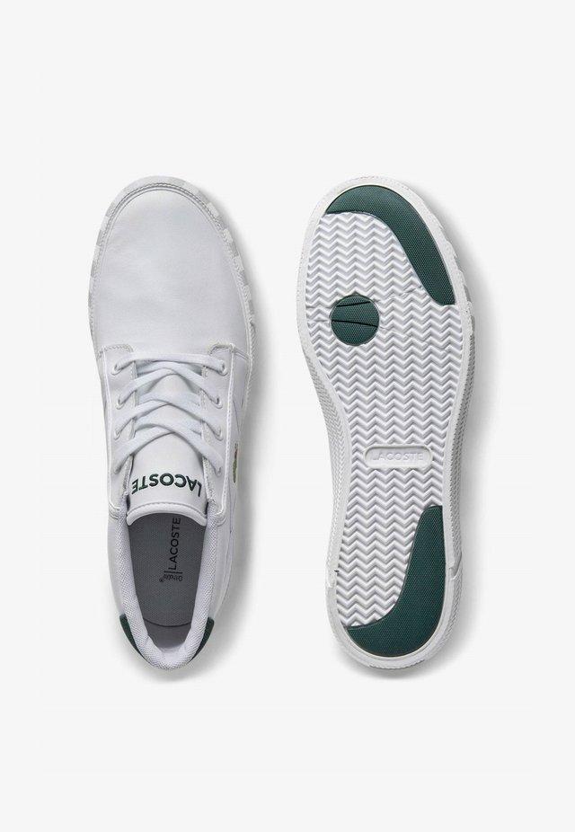 Sneakers hoog - wht/dk grn