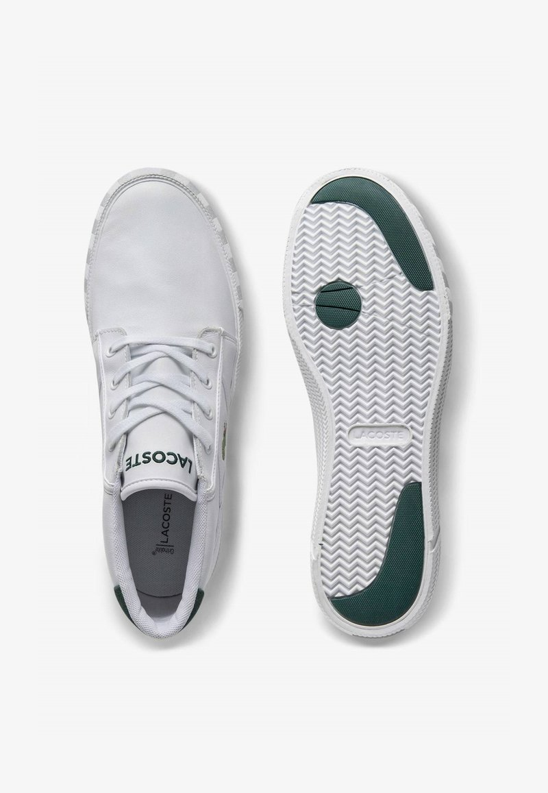 Lacoste - High-top trainers - wht/dk grn