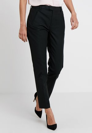 BASIC STRETCH - Trousers - black