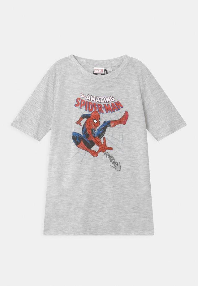 SHORT SLEEVE TEE - T-shirts med print - summer grey