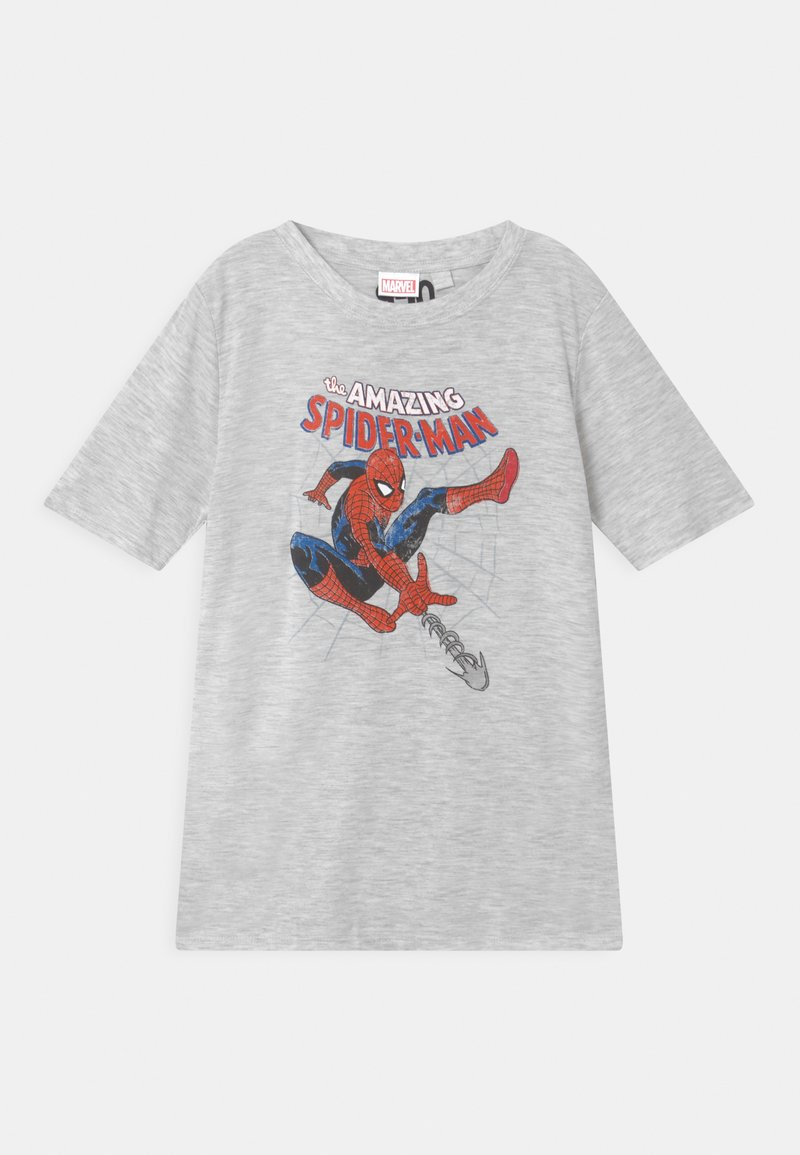 Cotton On - SHORT SLEEVE TEE - Print T-shirt - summer grey