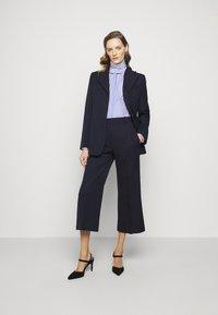 Victoria Beckham - Blouse - blue/white - 1