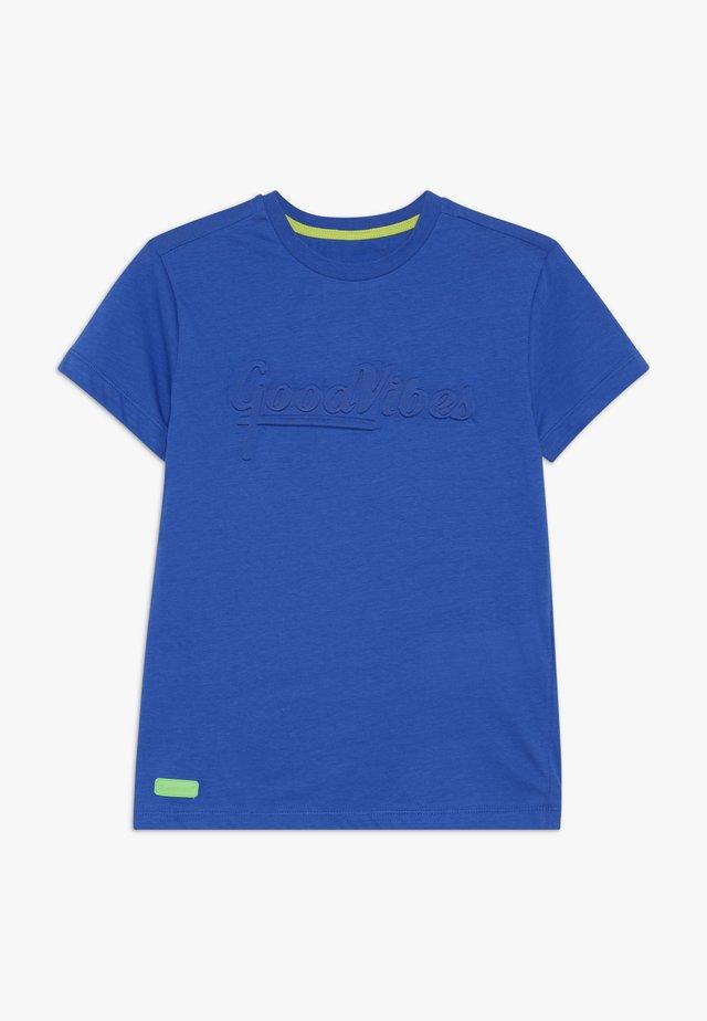 BOYS GOOD VIBES - T-shirt imprimé - königsblau reactive