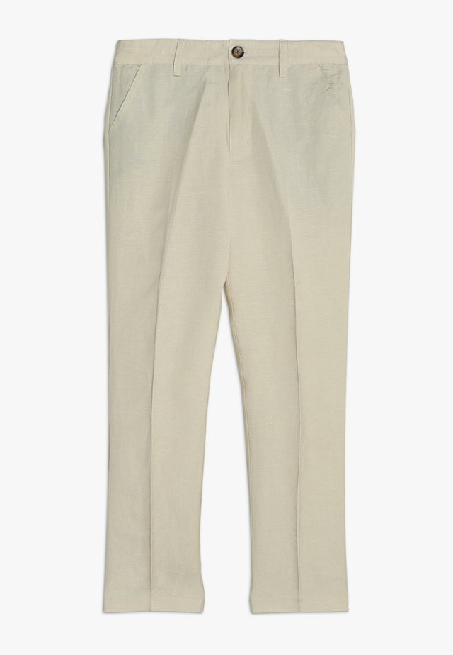 MILES PANT - Pantalon classique - pebble