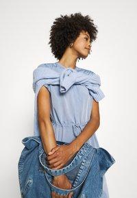 comma - Shirt dress - blue - 3