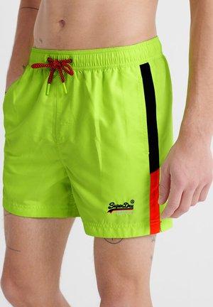 Swimming shorts - fluro green