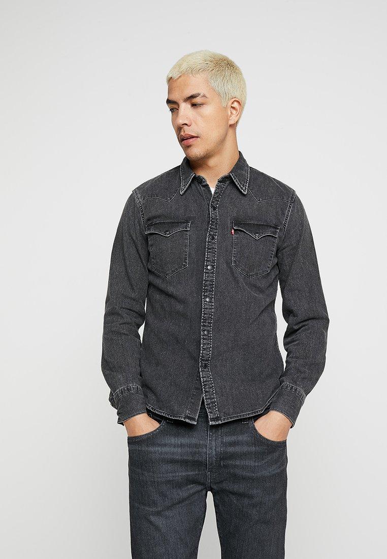 Levi's® - BARSTOW WESTERN - Shirt - black worn
