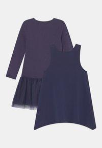 happy girls - SEQUIN 2 PACK - Jersey dress - navy - 1