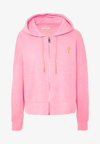 Guess - GALA - Zip-up hoodie - las palmas pink - 4