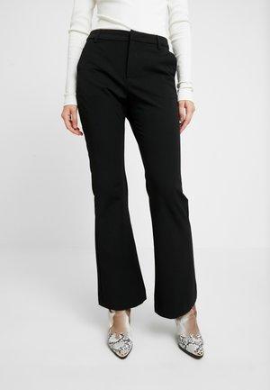 ESMA PANTS - Trousers - black