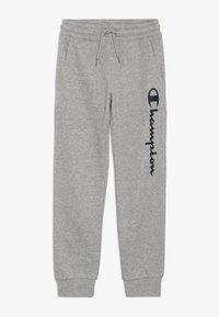 Champion - AMERICAN CLASSICS CUFF PANTS - Pantalones deportivos - mottled grey - 0