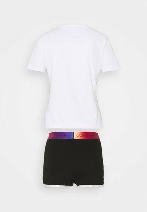 MODERN PRIDE SHORT  - Pyjamas - black/white