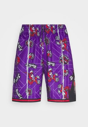 NBA TORONTO RAPTORS TEAR UP PACK SWINGMAN - Short de sport - purple