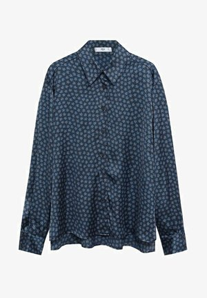 CHIQUI - Button-down blouse - blau