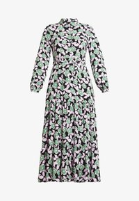 Moves - ELINOA - Shirt dress - black/green/pink - 4