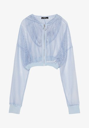 Lehká bunda - light blue