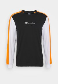 Champion - LONG SLEEVE - Long sleeved top - black - 5