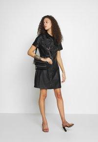 New Look Petite - BELTED DRESS - Shirt dress - black - 1