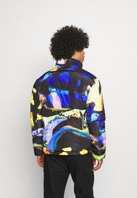 Vintage Supply - ART PRINT PUFFER JACKET - Winter jacket - blue - 2