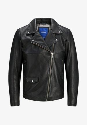 HYPER - Leather jacket - black