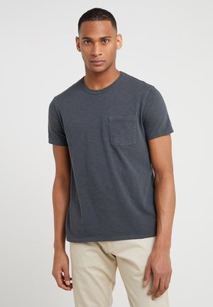 GARMENT DYE TEE - T-shirt basic - black