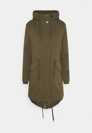 CASUAL WASHED  - Wintermantel - utility olive