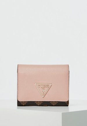 GUESS MINI-PORTEMONNAIE MADDY 4G-LOGO - Geldbörse - mehrfarbe rose