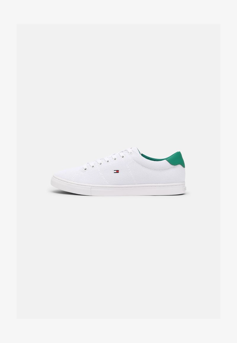 Tommy Hilfiger - ESSENTIAL VULC - Sneakers basse - white/courtside green