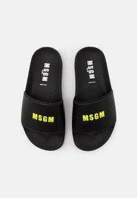 MSGM - UNISEX - Pantolette flach - black - 3