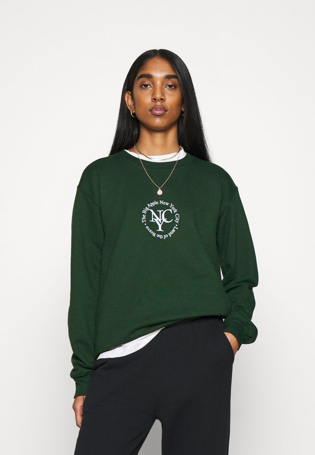 SPORTY CIRCLE - Sweater - green