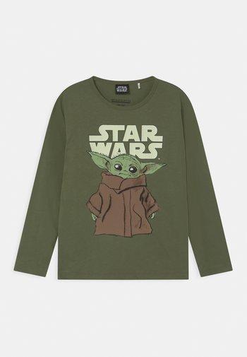 STAR WARS THE MANDALORIAN YODA  - Long sleeved top - khaki green
