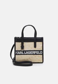 KARL LAGERFELD - SKUARE SMALL LOGO TOTE - Across body bag - black - 1