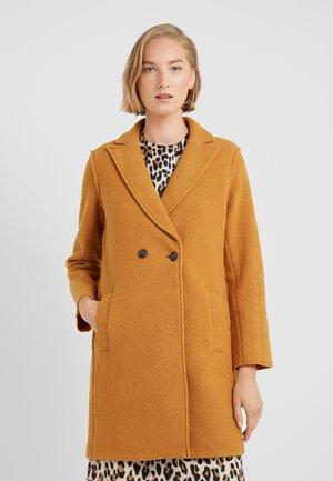 DAPHNE  - Classic coat - warm caramel