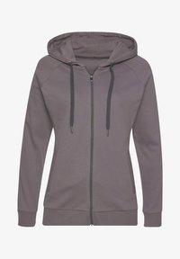 LASCANA Active - Zip-up sweatshirt - stone - 0