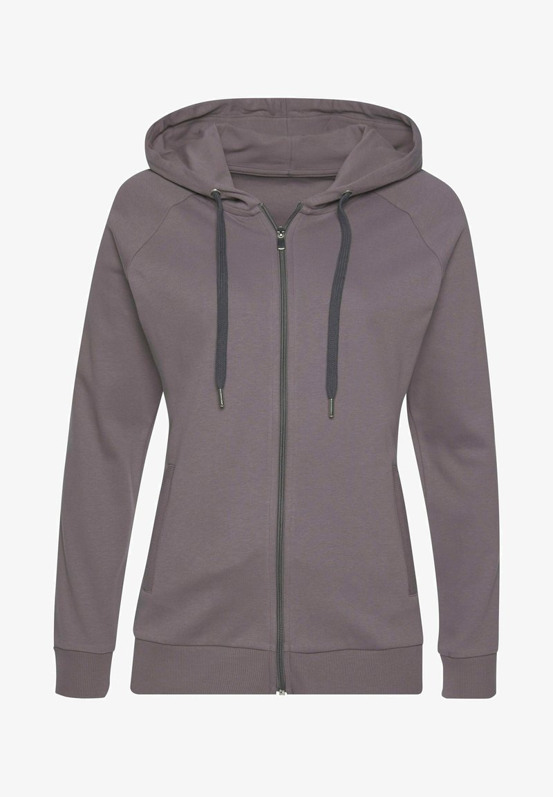 LASCANA Active - Zip-up sweatshirt - stone