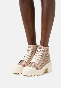 River Island - Lace-up ankle boots - beige - 0