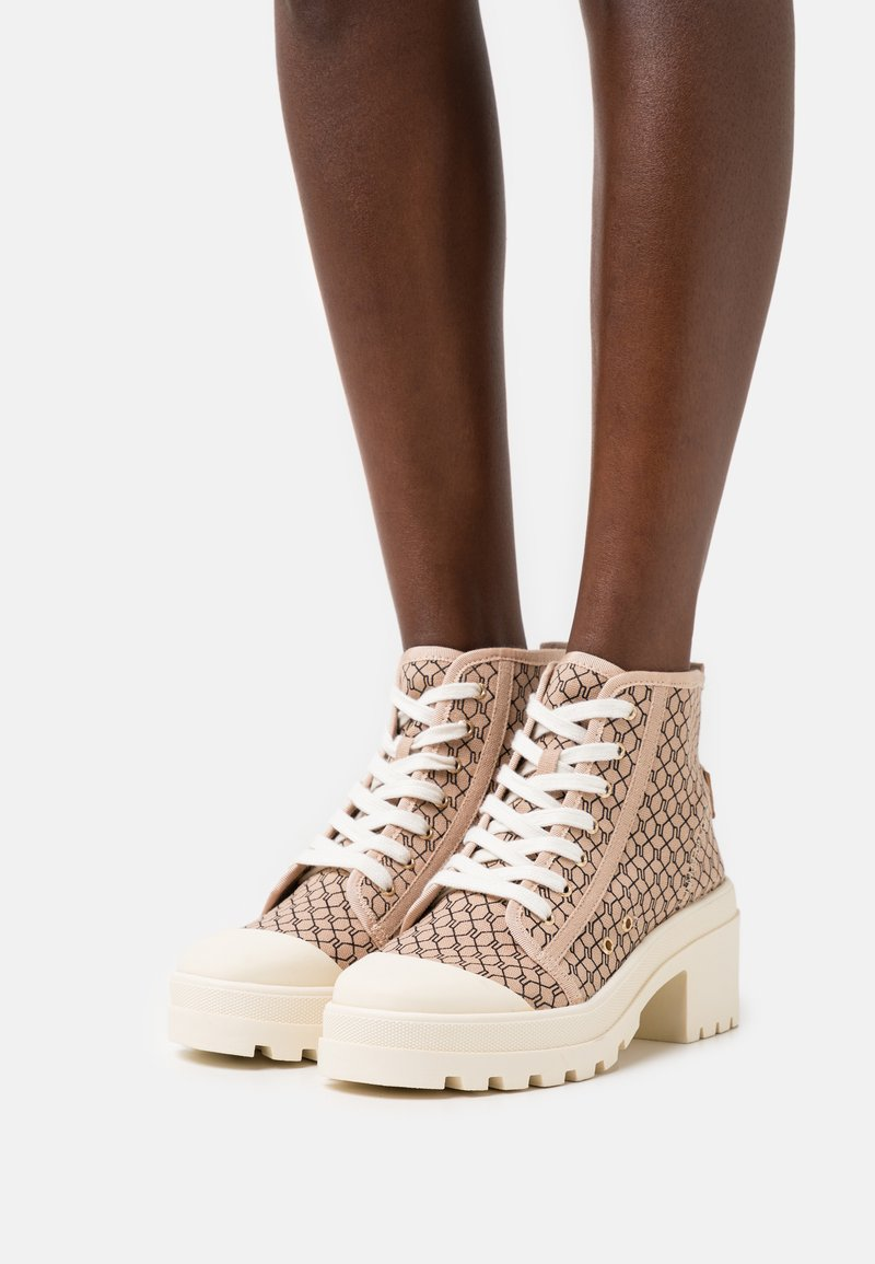 River Island - Lace-up ankle boots - beige