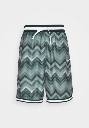 DRY CITY EXPLORATION DNA SHORT - Sports shorts - black/dark smoke grey/white