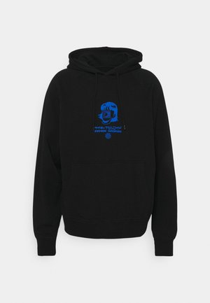 PSYCHIC CELLULOID HOODIE UNISEX - Pulover s kapuco - black