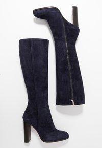 Cosmoparis - SALEMAS - High heeled boots - marine - 3