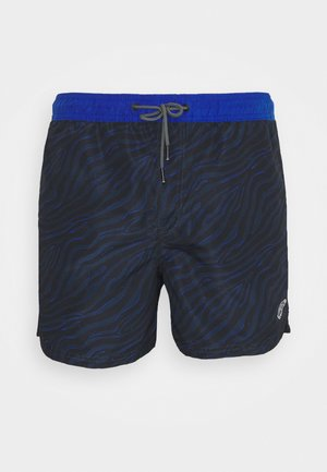 JJIBALI JJSWIMSHORTS ANIMAL - Swimming shorts - black