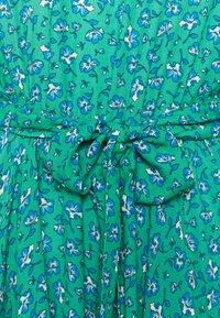 Mavi - LONG SLEEVE - Day dress - holly green print - 2