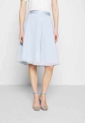 SKIRT - A-line skjørt - pastel blue