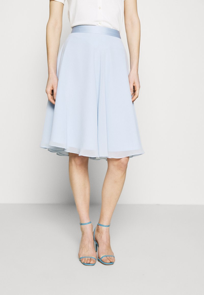Esprit Collection - SKIRT - A-Linien-Rock - pastel blue