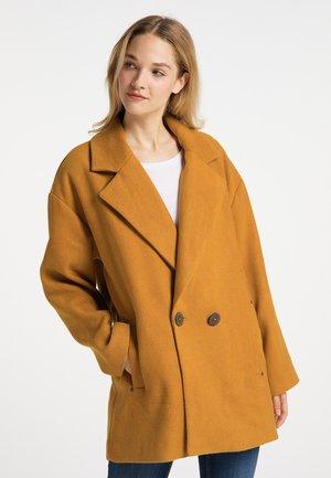 Short coat - dunkelcurry
