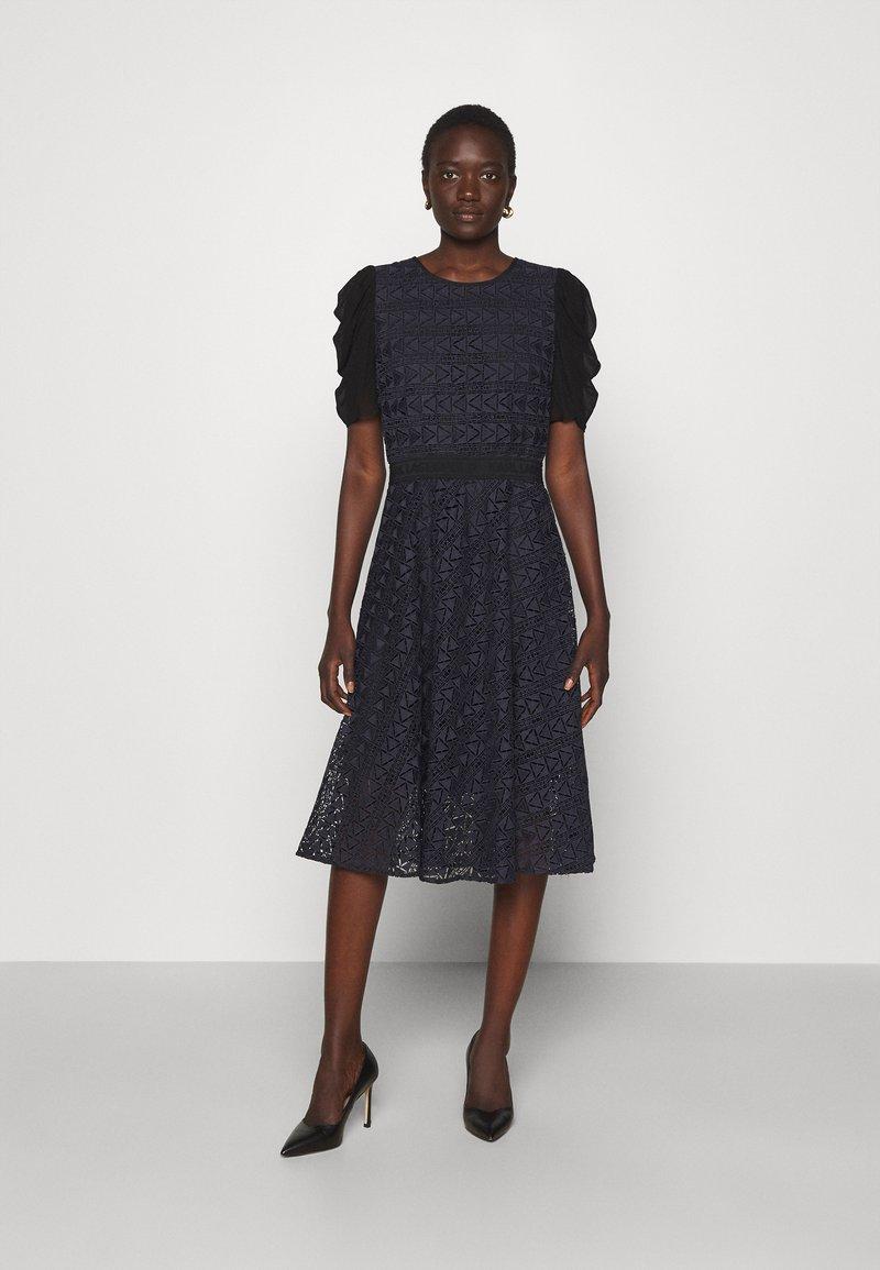KARL LAGERFELD - KARL DRESS - Cocktail dress / Party dress - navy/black